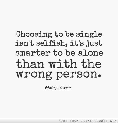 choosing someone isnt