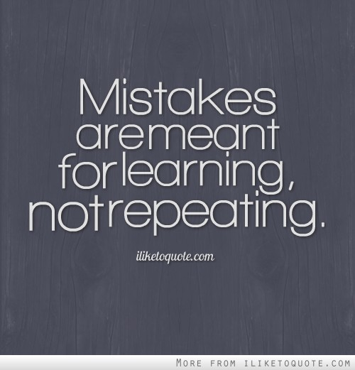 repeating mistakes quotes
