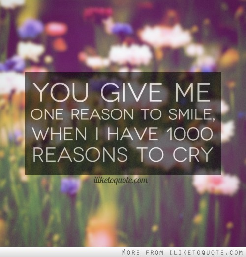 I Have Every Reason To Smile Quotes: Quotes Smile You Gave Me. QuotesGram