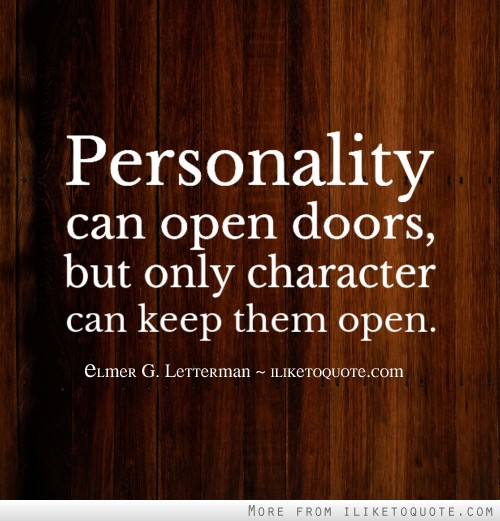 Quotes About Personality: Quotes Tagged Under Personality