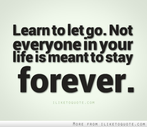Let Go Quotes Prepossessing Learn To Let Go.
