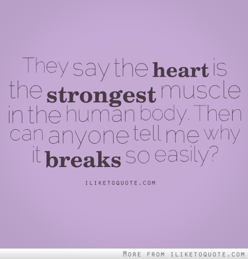 they say the heart is the strongest muscle in the human body, Human Body