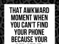 That awkward moment when you can't find your phone because your bed ate it.
