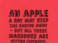 An apple a day may keep the doctor away