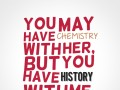 You may have chemistry with her