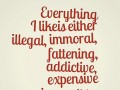 Everything I like