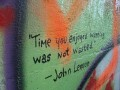 Time you enjoyed wasting, was not wasted. - John Lennon
